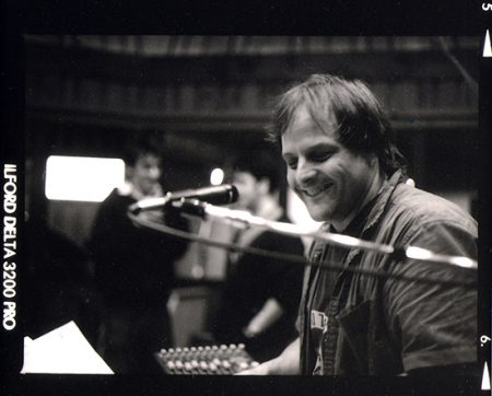Scott Healy conducts the brass during the Avatar Session