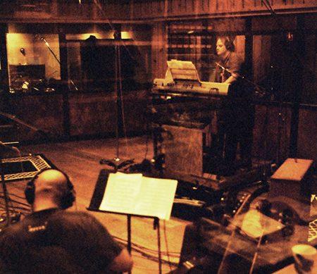 Scotty on Hammond organ