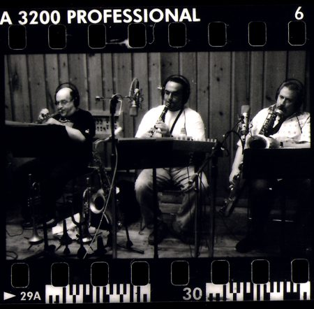 Lew Soloff, Jerry Vivino, and Ronnie Cuber